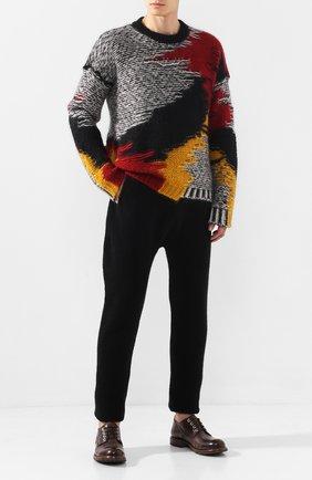 Мужской свитер ISABEL BENENATO разноцветного цвета, арт. UK91F19 | Фото 2