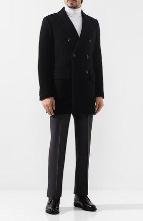 Мужские кожаные ботинки MORESCHI черного цвета, арт. 43201/EM | Фото 2
