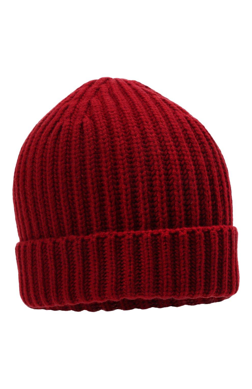 Мужская кашемировая шапка LORO PIANA красного цвета, арт. FAI3766 | Фото 1