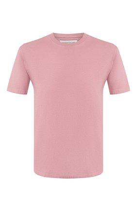 Мужская хлопковая футболка MAISON MARGIELA розового цвета, арт. S50GC0555/S22533 | Фото 1