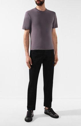 Мужская хлопковая футболка MAISON MARGIELA серого цвета, арт. S50GC0555/S22533 | Фото 2