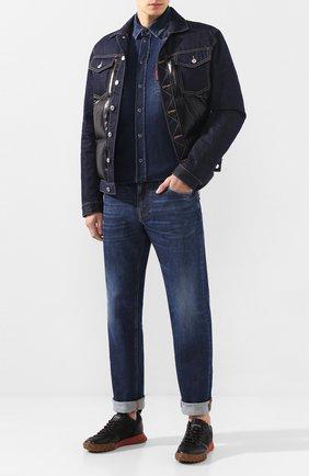 Мужская джинсовая рубашка DOLCE & GABBANA голубого цвета, арт. G5EX7D/G8BF6 | Фото 2