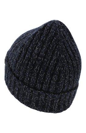 Мужская шерстяная шапка BRIONI темно-синего цвета, арт. 04M60L/08K35 | Фото 2