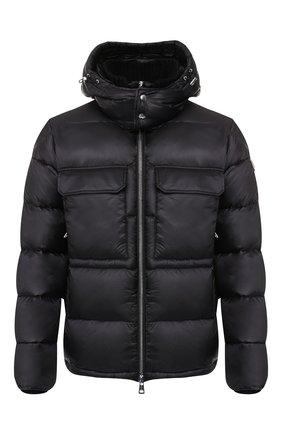 Мужская пуховая куртка rouve MONCLER черного цвета, арт. E2-091-40825-05-53334 | Фото 1