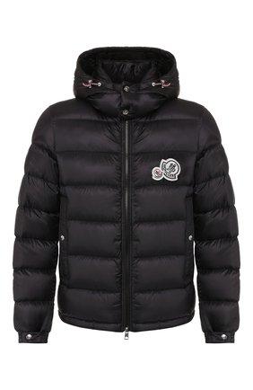 Мужская пуховая куртка bramant MONCLER черного цвета, арт. E2-091-41811-49-53334 | Фото 1
