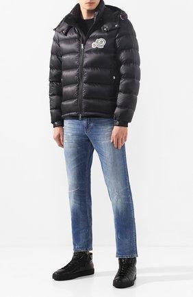 Мужская пуховая куртка bramant MONCLER черного цвета, арт. E2-091-41811-49-53334 | Фото 2
