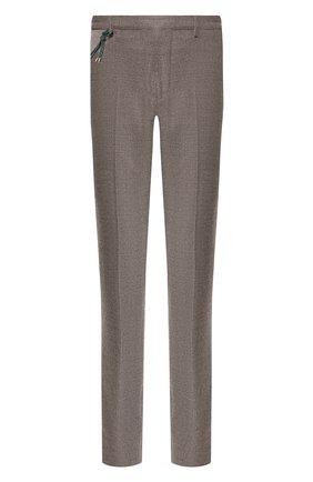Мужской шерстяные брюки BERWICH темно-коричневого цвета, арт. SC/1ALC/MZ1853X | Фото 1