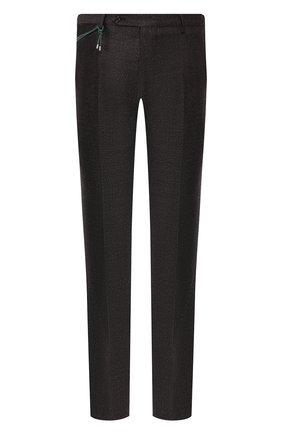 Мужской шерстяные брюки BERWICH темно-коричневого цвета, арт. SC/1ALC/RD1436 | Фото 1