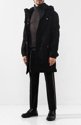 Мужские кожаные ботинки MOMA черного цвета, арт. 2CW007-BAM | Фото 2