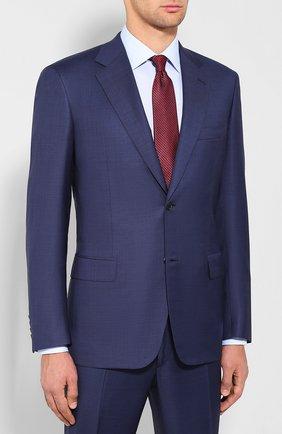 Мужской шерстяной костюм BRIONI синего цвета, арт. RAH00M/08A0K/PARLAMENT0 | Фото 2