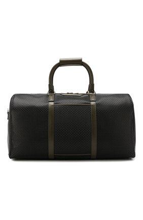 Мужская дорожная сумка stepan SERAPIAN черного цвета, арт. SSTEPMTR2806M50E | Фото 1