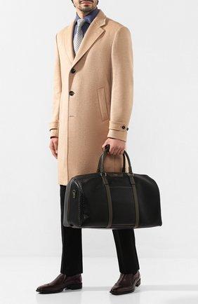 Мужская дорожная сумка stepan SERAPIAN черного цвета, арт. SSTEPMTR2806M50E | Фото 2