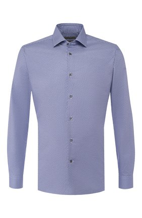 Мужская хлопковая сорочка CORNELIANI фиолетового цвета, арт. 84P010-9811233/00 | Фото 1