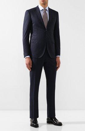 Мужской шерстяной костюм CORNELIANI темно-синего цвета, арт. 847230-9817293/00 | Фото 1