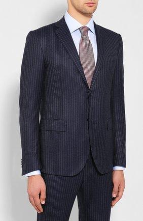 Мужской шерстяной костюм CORNELIANI темно-синего цвета, арт. 847230-9817293/00 | Фото 2