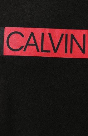 Мужская майка CALVIN KLEIN черного цвета, арт. KM0KM00317 | Фото 5