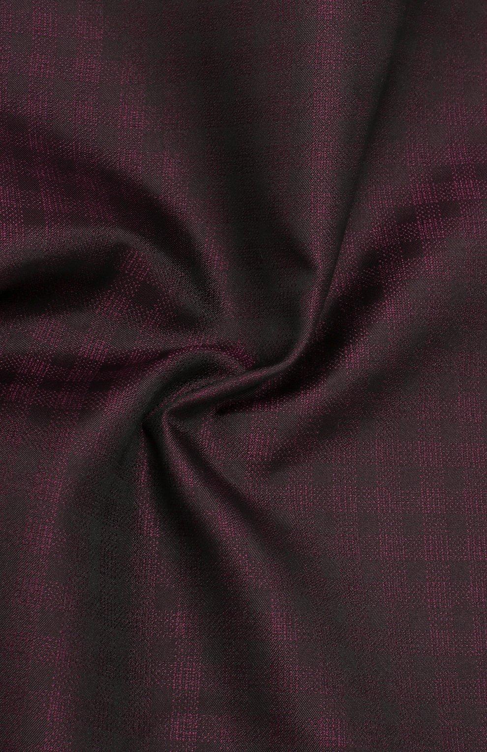 Мужской шелковый платок BRIONI фиолетового цвета, арт. 071000/0842B | Фото 2