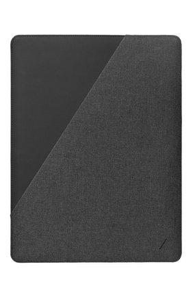 "Мужской чехол для ipad pro 11"" NATIVE UNION серого цвета, арт. STOW-IPS-GRY-FB-11 | Фото 2"