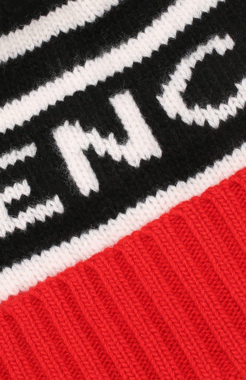 Шапка Givenchy красного цвета | Фото №3