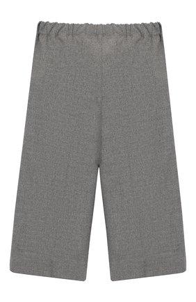 Детские укороченные брюки IL GUFO светло-серого цвета, арт. A19PL242WR003/10A-12A   Фото 2