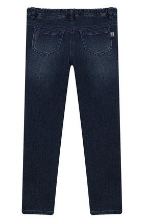 Детские джинсы IL GUFO темно-синего цвета, арт. A19PL105JB021/5А-8А   Фото 2