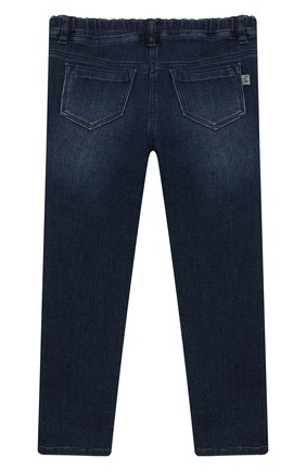 Детские джинсы IL GUFO темно-синего цвета, арт. A19PL105JB021/2A-4A   Фото 2