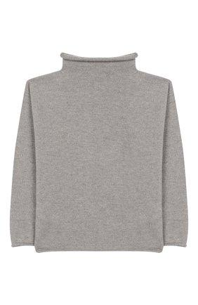 Детский шерстяной свитер IL GUFO серого цвета, арт. A19MA299EM620/5А-8А   Фото 2