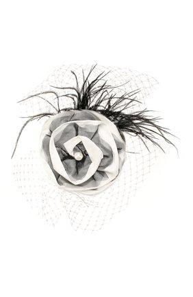 Детская заколка для волос DESIGNERS CAT черного цвета, арт. 100000K01000382 | Фото 1