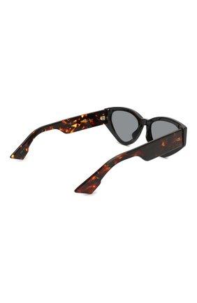 Женские солнцезащитные очки DIOR коричневого цвета, арт. DI0RSPIRIT2 807 | Фото 4