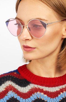 Мужские солнцезащитные очки FENDI розового цвета, арт. 0341 AVB | Фото 2