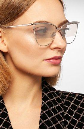 Женские солнцезащитные очки TOM FORD серебряного цвета, арт. TF684 16B | Фото 2