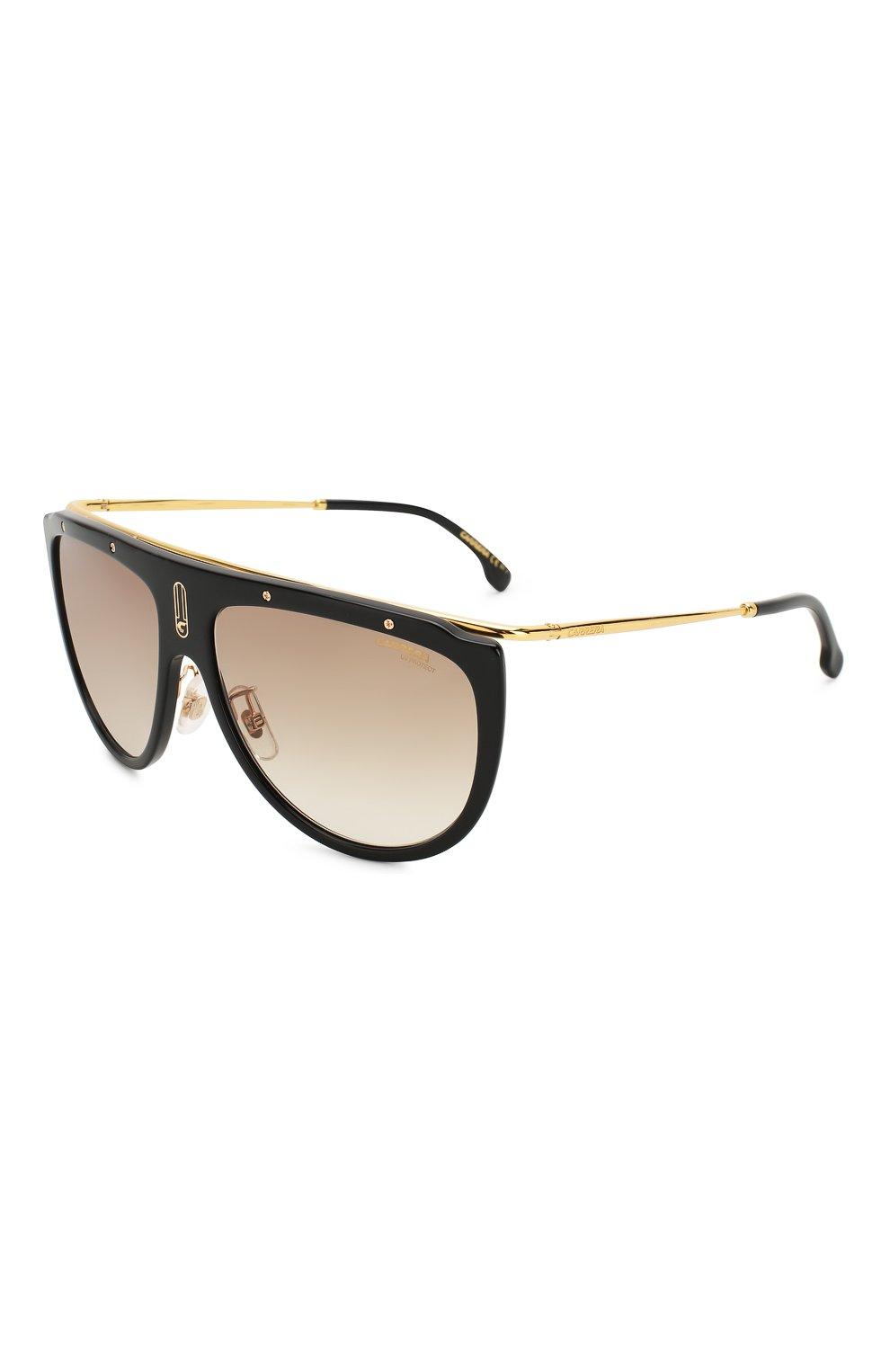 Женские солнцезащитные очки CARRERA коричневого цвета, арт. CARRERA 1023 2M2   Фото 1 (Тип очков: С/з; Статус проверки: Проверено, Проверена категория; Очки форма: Маска, D-форма; Оптика Гендер: оптика-унисекс)