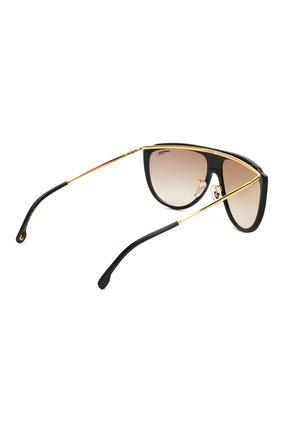 Женские солнцезащитные очки CARRERA коричневого цвета, арт. CARRERA 1023 2M2   Фото 4 (Тип очков: С/з; Статус проверки: Проверено, Проверена категория; Очки форма: Маска, D-форма; Оптика Гендер: оптика-унисекс)