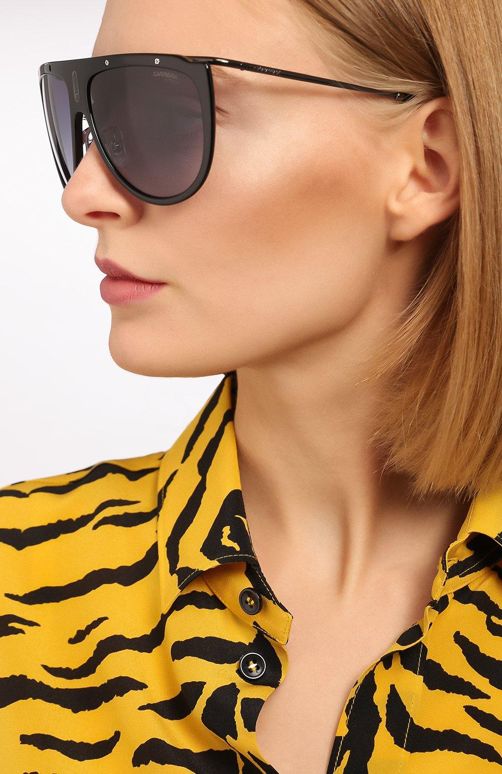 Женские солнцезащитные очки CARRERA черного цвета, арт. CARRERA 1023 807 | Фото 2