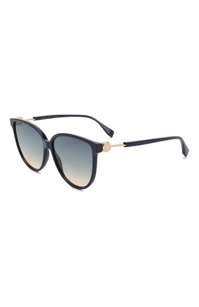 Мужские солнцезащитные очки FENDI синего цвета, арт. 0345 PJP | Фото 1
