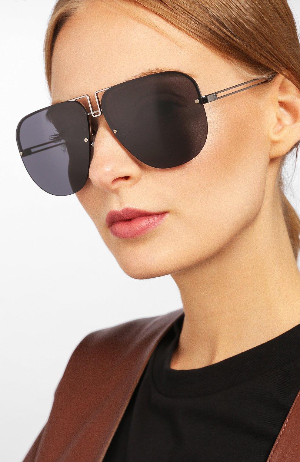 Солнцезащитные очки Givenchy черные | Фото №2