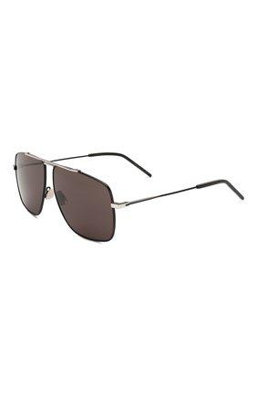 Женские солнцезащитные очки SAINT LAURENT черного цвета, арт. SL 298 002 | Фото 1