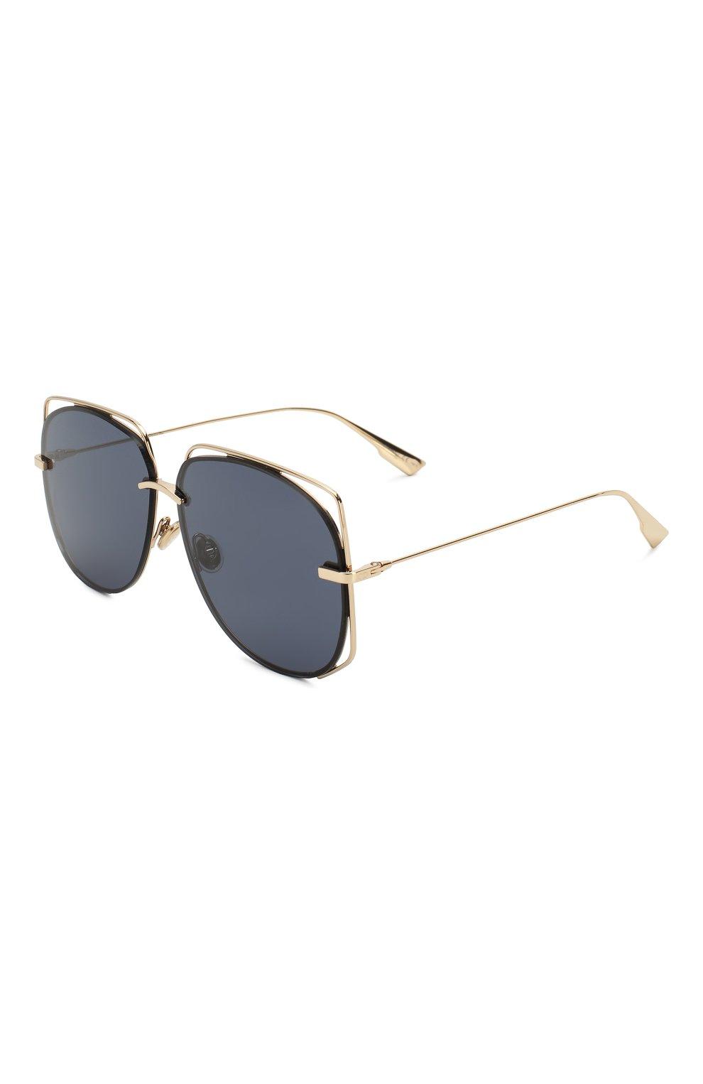 Женские солнцезащитные очки DIOR черного цвета, арт. DI0RSTELLAIRE6 J5G | Фото 1
