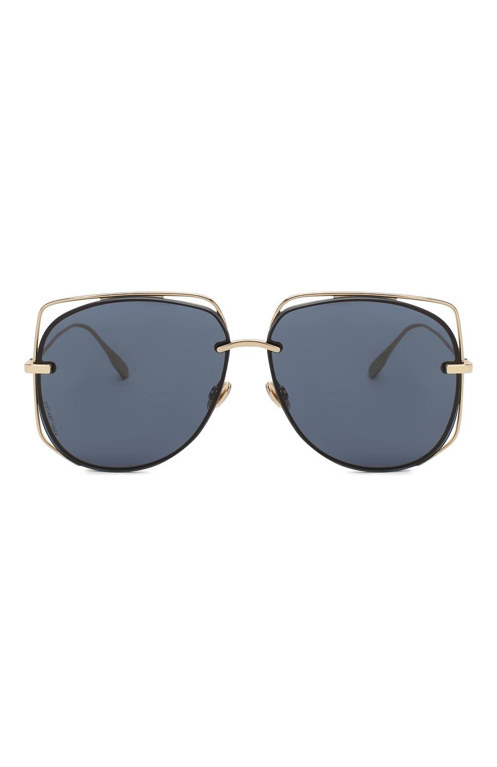 Женские солнцезащитные очки DIOR черного цвета, арт. DI0RSTELLAIRE6 J5G | Фото 3