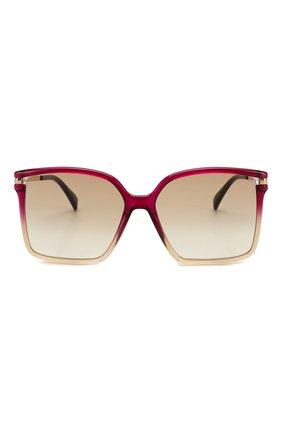 Женские солнцезащитные очки GIVENCHY красного цвета, арт. 7130 3R7   Фото 3