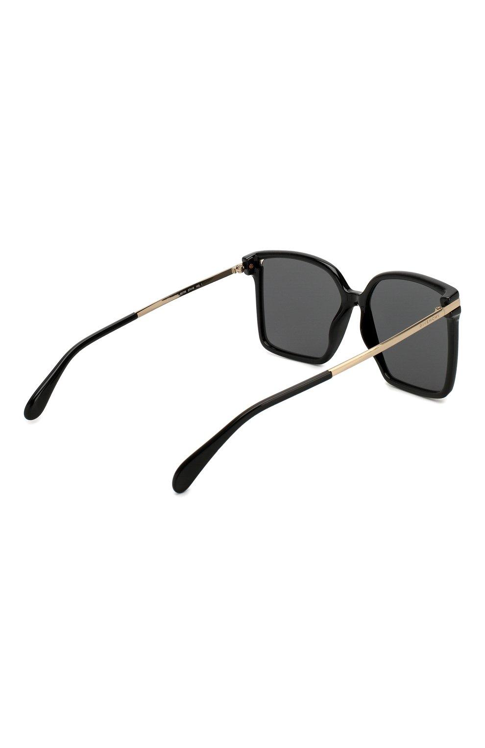 Солнцезащитные очки Givenchy черные | Фото №4