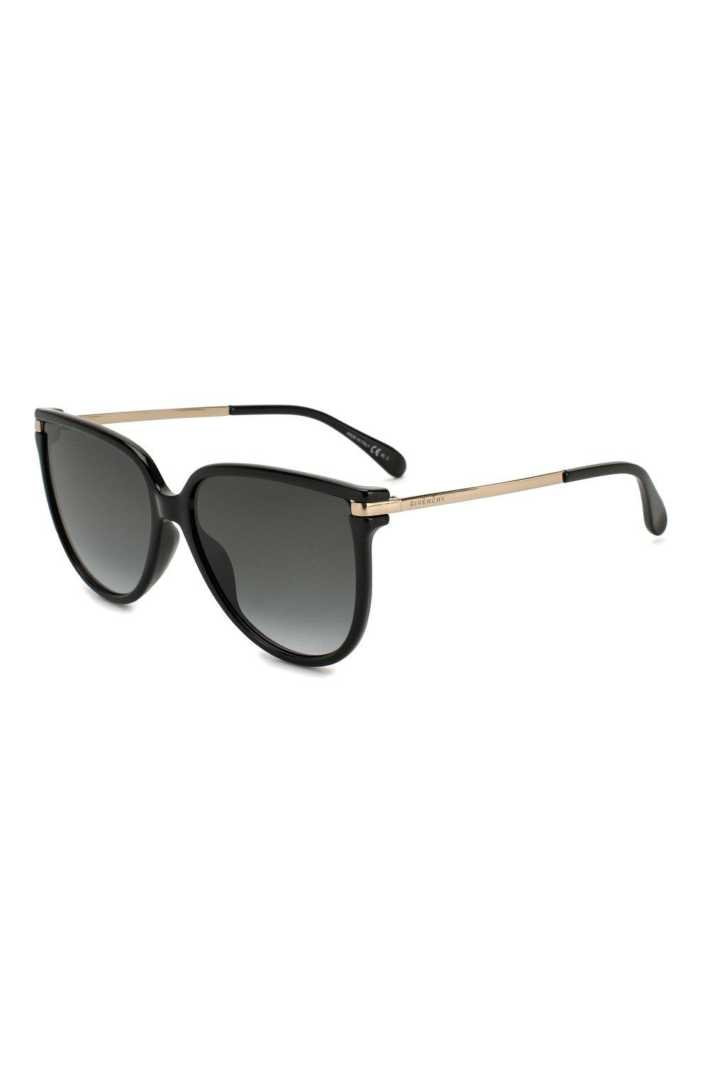 Женские солнцезащитные очки GIVENCHY черного цвета, арт. 7131/G 807   Фото 1
