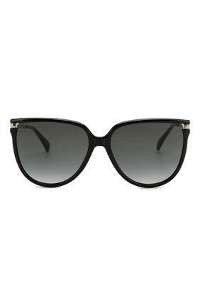 Женские солнцезащитные очки GIVENCHY черного цвета, арт. 7131/G 807   Фото 3