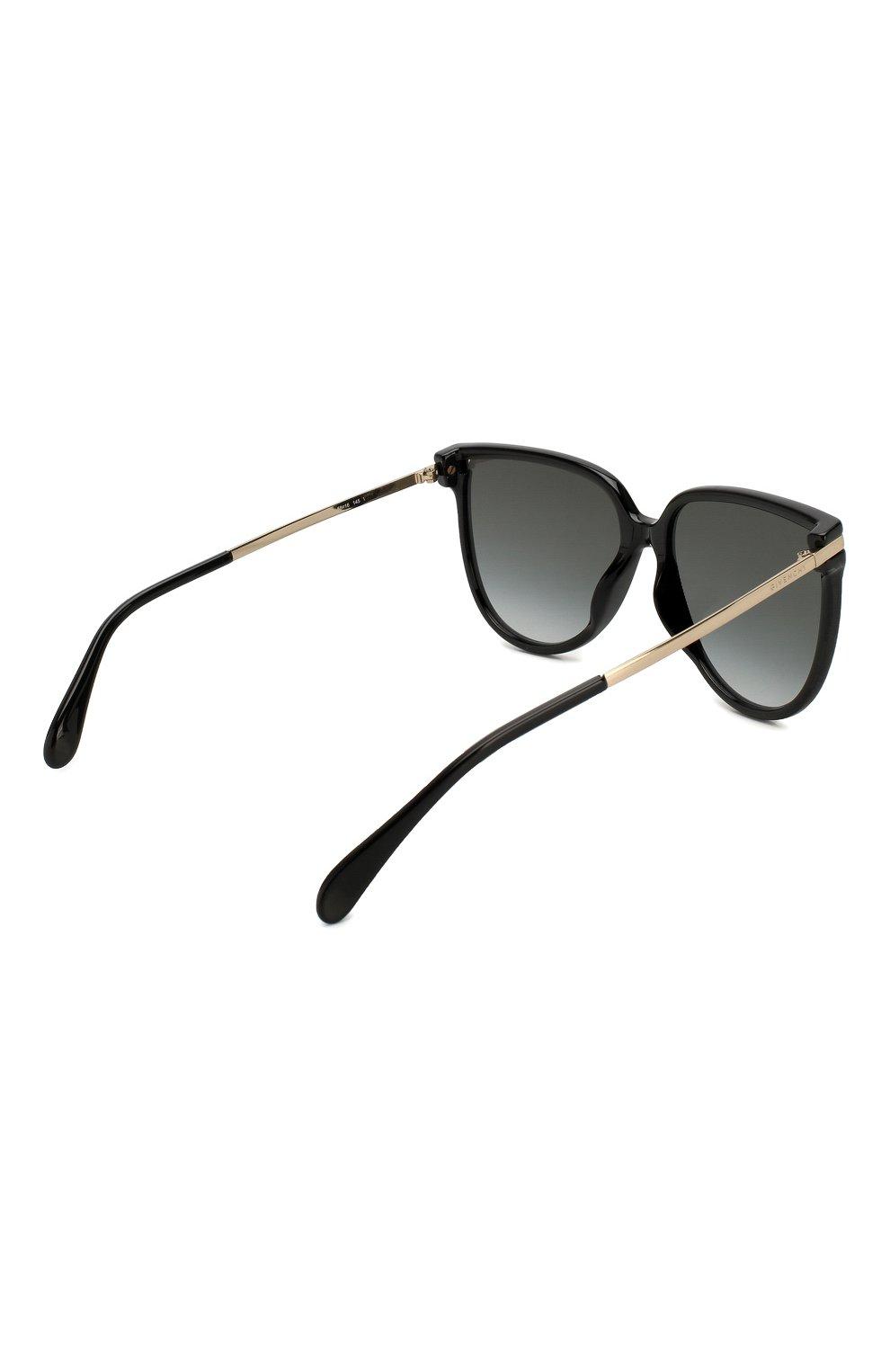Женские солнцезащитные очки GIVENCHY черного цвета, арт. 7131/G 807   Фото 4