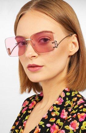 Мужские солнцезащитные очки MARC JACOBS (THE) розового цвета, арт. MARC 372 35J | Фото 2