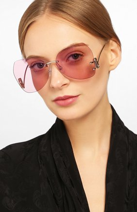 Мужские солнцезащитные очки MARC JACOBS (THE) розового цвета, арт. MARC 373 35J | Фото 2
