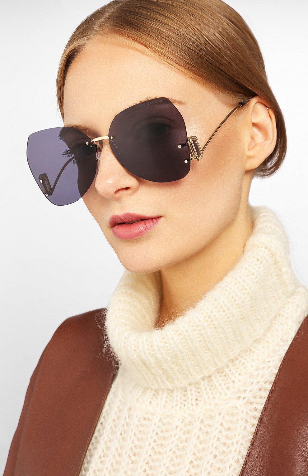Женские солнцезащитные очки MARC JACOBS (THE) серого цвета, арт. MARC 373 807   Фото 2