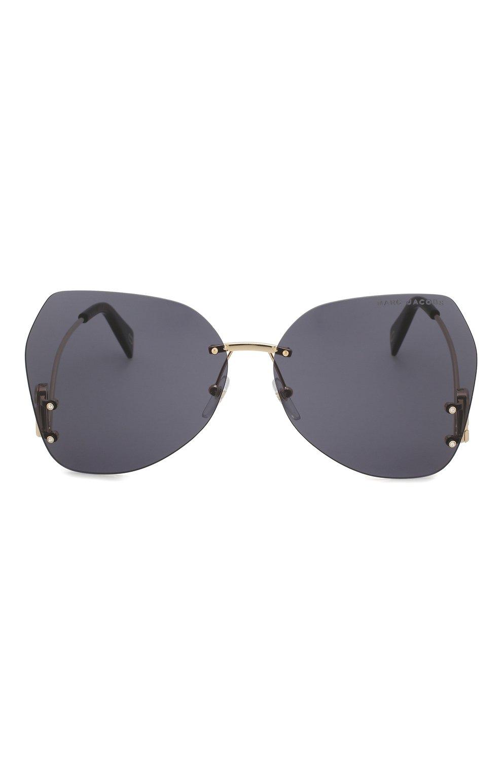 Женские солнцезащитные очки MARC JACOBS (THE) серого цвета, арт. MARC 373 807   Фото 3