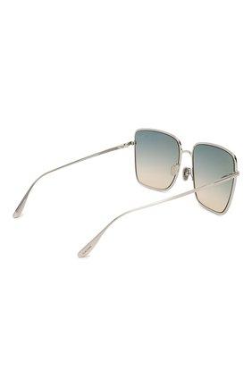 Женские солнцезащитные очки TOM FORD голубого цвета, арт. TF739 16P | Фото 4