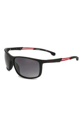 Мужские солнцезащитные очки CARRERA черного цвета, арт. CARRERA 4013 003 | Фото 1